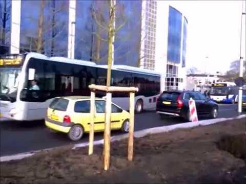 Bussen in Leeuwarden 16-02-2017