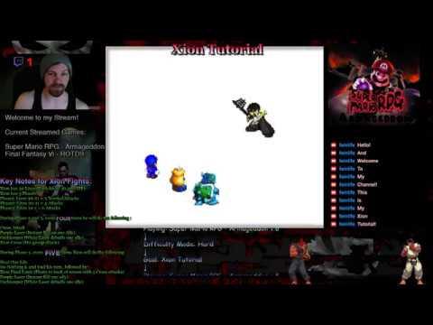 Super Mario RPG Armageddon Turtorials - Super Mario RPG