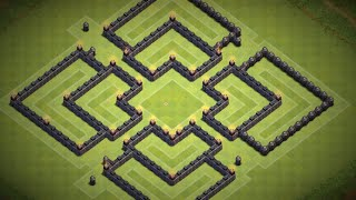 Best TH8 Farming Base The Unpredictable SPEED BUILD