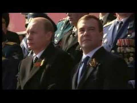 Russia parades its military might