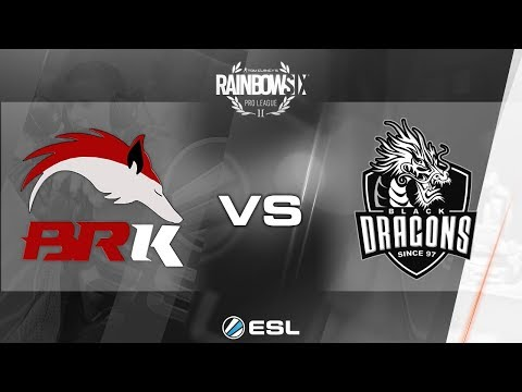 Rainbow Six Pro League - Season 3 - LATAM - BRK e-Sports vs. Black Dragons - Week 4