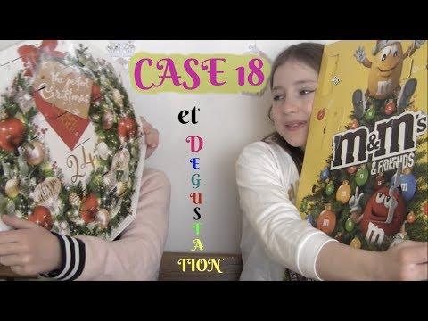Case 18 calendrier de l'Avent et dégustation biscuits, chocolat