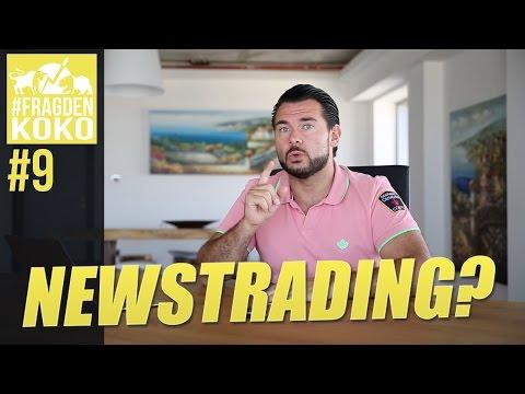 News Trading profitabel für Einsteiger? #FragDenKoko009
