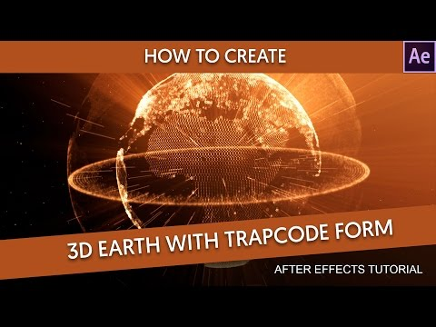 After Effects Tutorial : 3D Earth Particles