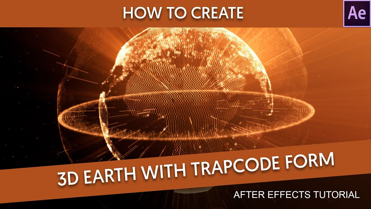 After effects tutorial 3d earth particles youtube for Habitacion 3d after effects