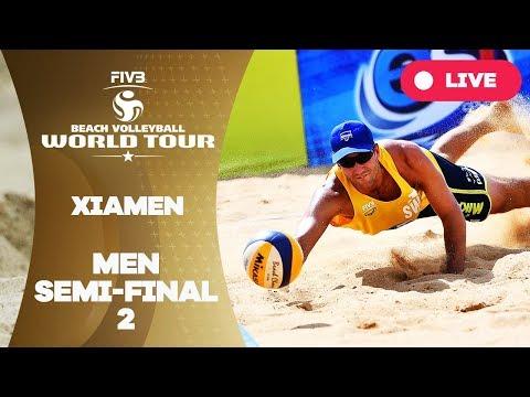 Xiamen  - 2018 FIVB Beach Volleyball World Tour - Men Semi Final 2