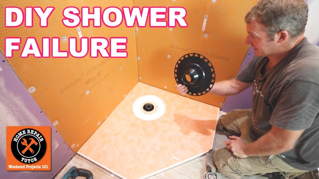 10 Reasons Why Your DIY Shower Makeover Will FAIL