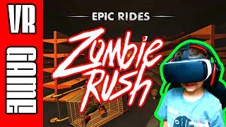 ZOMBIE RUSH - VR - VIRTUAL REALITY GAMEPLAY (Gear VR powered by Oculus)
