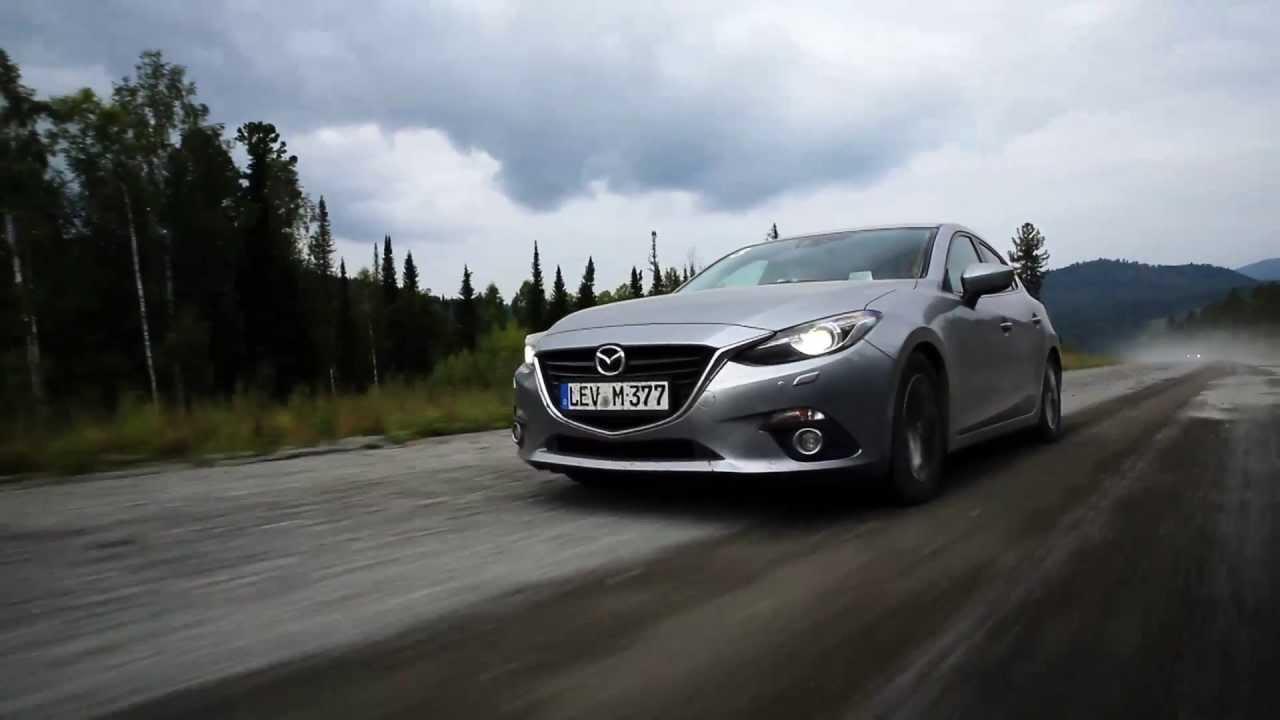 2014 Mazda3 SkyActiv Driven  Review  Road Test  Mazda 3 Siberia
