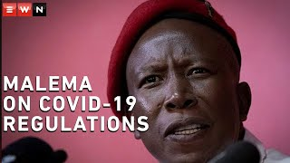 EFF leader Julius Malema held a virtual press briefing on 28 May 2020 where he addressed government's response to the COVID-19 outbreak and lockdown regulations. Malema also urged South Africans to stay at home.