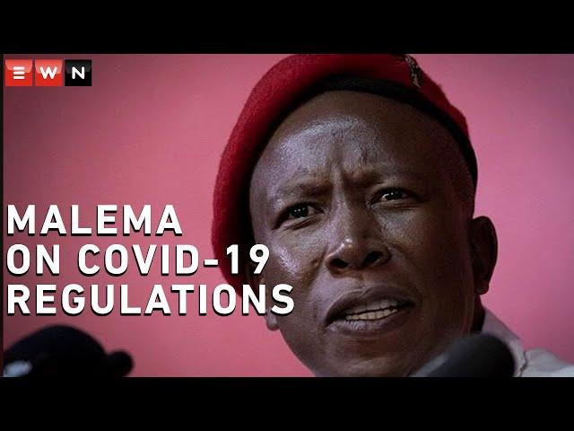 Malema to govt: Why do you shut restaurants, but open churches?