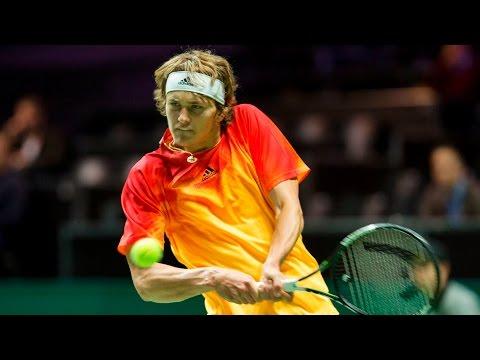 Rising star Zverev dreams of Grand Slam title