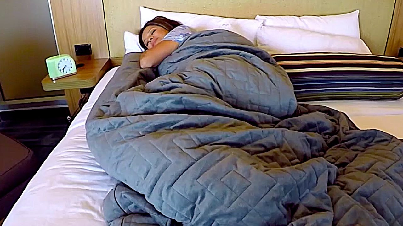 3 Ways The Gravity Blanket Could Help You Sleep Youtube