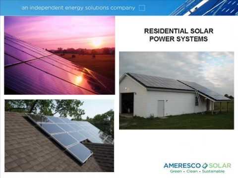 Solar Panels, Solar Power Systems, Ameresco Solar