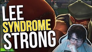 DYRUS • THE LEE SYNDROME IS TOO STRONG! | FULL AD LEE SIN TOP!!