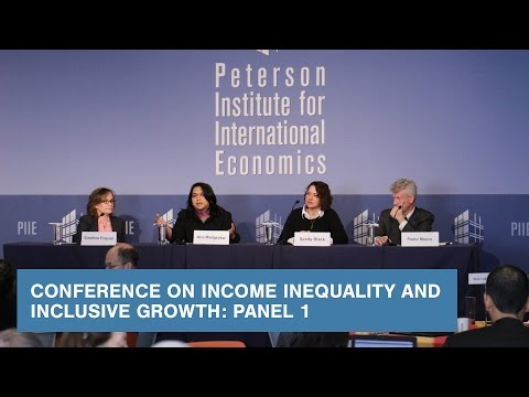 Conference on Income Inequality and Inclusive Growth: Panel 1