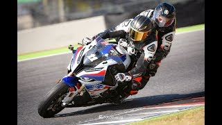 Troy Corser 🐊 Mugello 360° pillion ride with S1000RR M