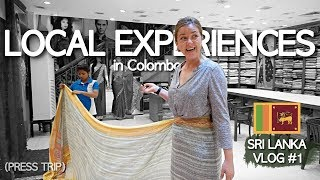 Real LOCAL EXPERIENCES in COLOMBO! | Sri Lanka Travel Vlog #1