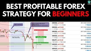 Best PROFITABLE Forex Strategy for BEGINNERS (95% WINS)