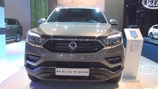 SsangYong Rexton Sapphire 2.2 e-Xdi 220 181 hp (2018) Exterior and Interior