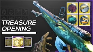 Destiny: Opening Treasure of Ages - New Exotic Ornaments! (Are They Worth It?)