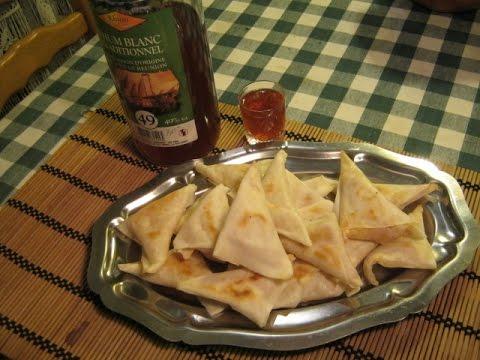 SAMOUSSAS AU JAMBON-FROMAGE - 100% appétissant !