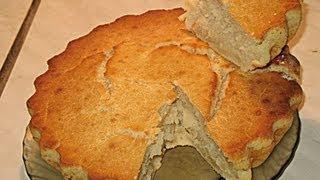 Пирог «Минутка» из Кефира видео рецепт