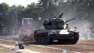 Gepard tank, Panzer @ Tractor Pulling Fursten Forest Fürstenau 2015