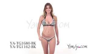 Glow-in-the-Dark Bikini YA TG1680 1162 BK