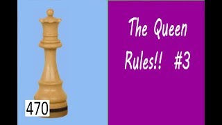 The Queen Rules! ¦ Crushing attack from 1st World Champion!
