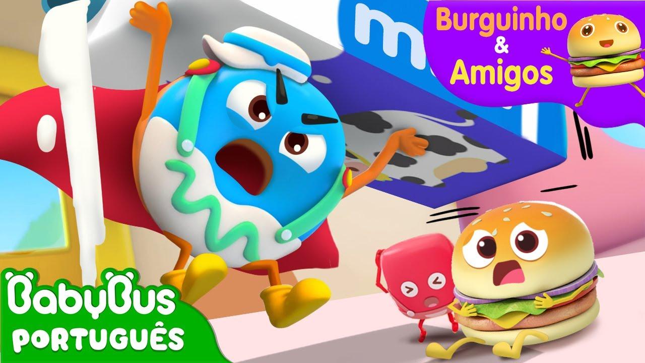 Super Donny   Burguinho e Amigos   Aventuras Alimentares   Desenho Infantil   BabyBus Português
