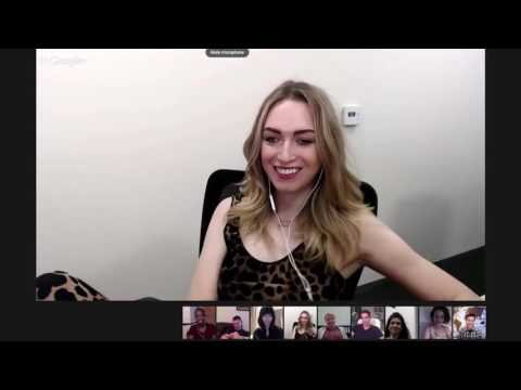 Sense8 Cast Google Chat