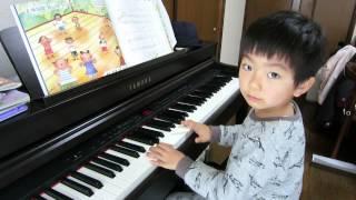 5歳でピアノはじめました