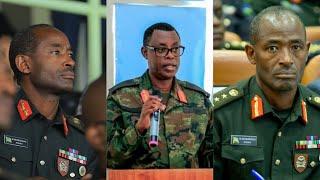 BITUNGURANYE Lt Gen MUBARAKA MUGANGA WAZAMUWE NA PEREZIDA KAGAME YUMVIKANYE AVUGA AMAGAMBO AKOMEYE