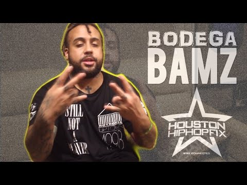 Bodega Bamz Talks Spanish Harlem and Texas Music Culture w/ Houston Hip Hop Fix