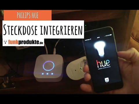steckdose in philips hue integrieren living whites voll kompatibel youtube. Black Bedroom Furniture Sets. Home Design Ideas