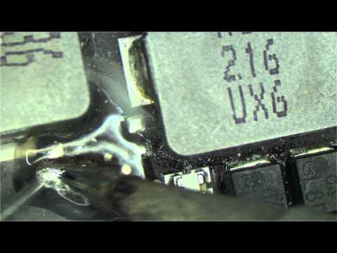 How to detect a short circuit and repair an Apple Macbook logic board