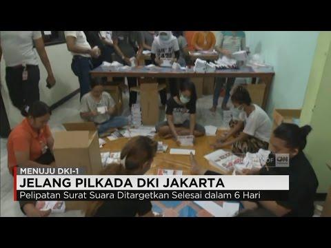 Jelang Pilkada, Surat Suara Sudah Didistribusikan Ke 5 Wilayah DKI Jakarta