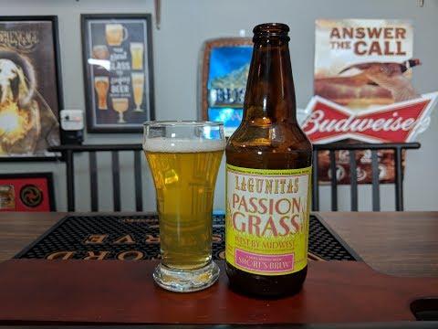 Lagunitas Passion Grass Pale Ale Review!