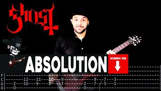 Ghost - Absolution (Guitar Cover by Masuka W/Tab)
