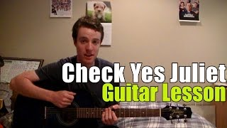 Check Yes Juliet - We The Kings (Guitar Lesson & Chords)