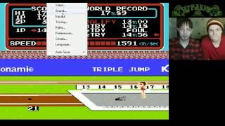 Стрим игры Hyper Sports (NES) Прохождение