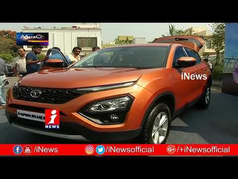 TATA Motors Launches New Model Harrier SUV Car In Hyderabad Metro Colours iNews