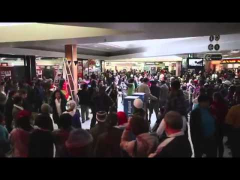 South Africa Flash Mob