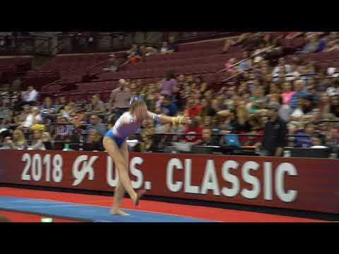 Delaney Fisher - Vault - 2018 GK U.S. Classic - Junior Competition