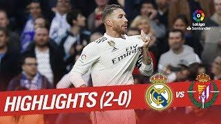 Resumen de Real Madrid vs Real Valladolid (2-0)
