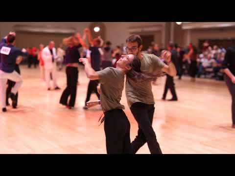 West Coast Swing | Robin Axel + Elodie Robles | Advanced Strictly Swing - Desert City Swing 2019