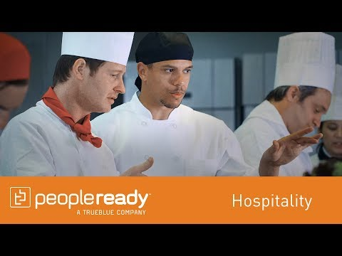 PeopleReady: Hospitality