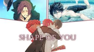 Shape of You (Switching Vocals) Nightcore