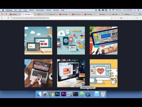#6 Create A Web Developers Porfolio: CSS3 Animations 💯